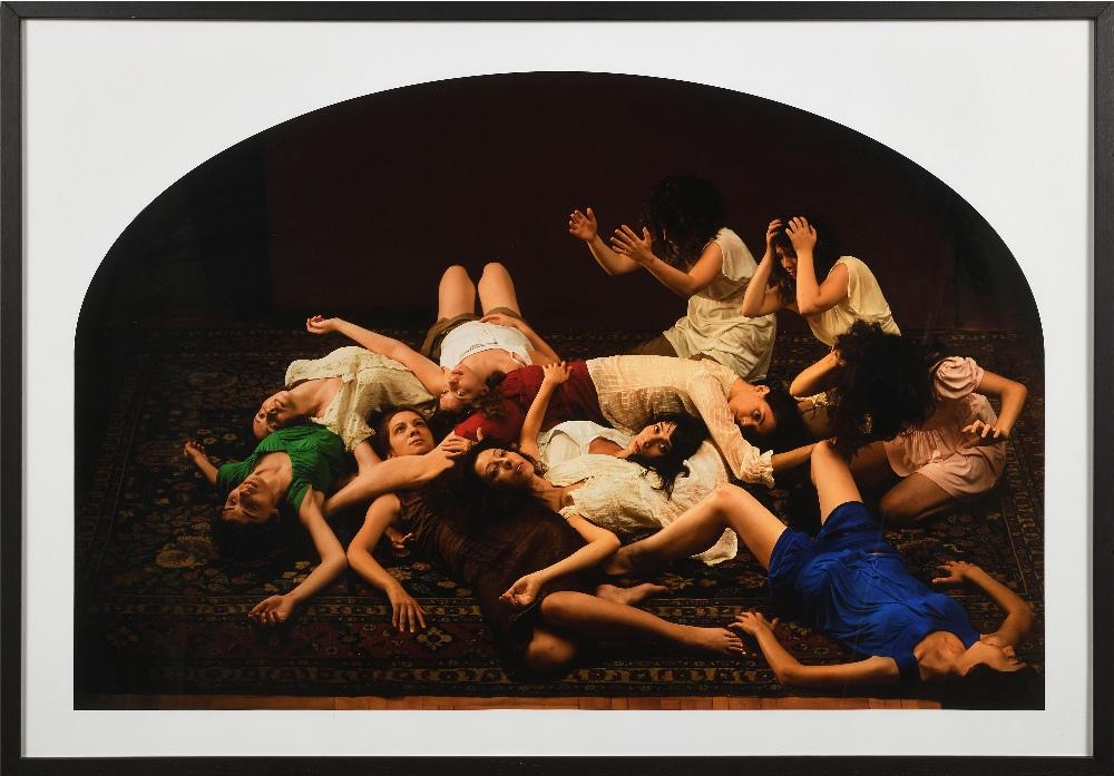 Nazif TOPCUOGLU (Ankara 1953)Lamentations, série New World, 2007-2009C-print 70 x 100 cm Epreuve