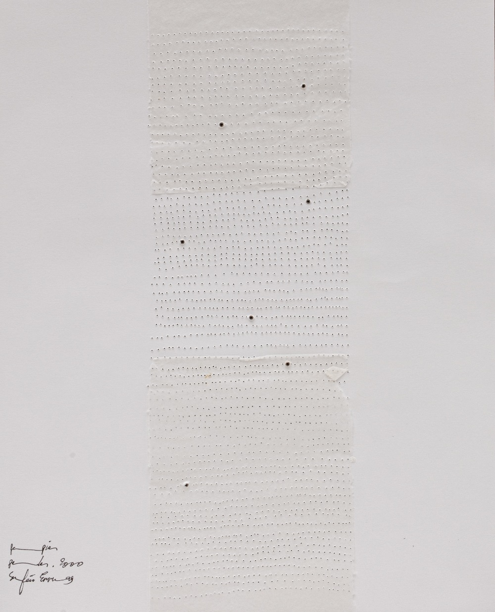 Safaâ ERRUAS (Tétouan 1976)Portfolio, 2000Ensemble de 8 feuillets réunis dans un portfolio - - Image 9 of 9