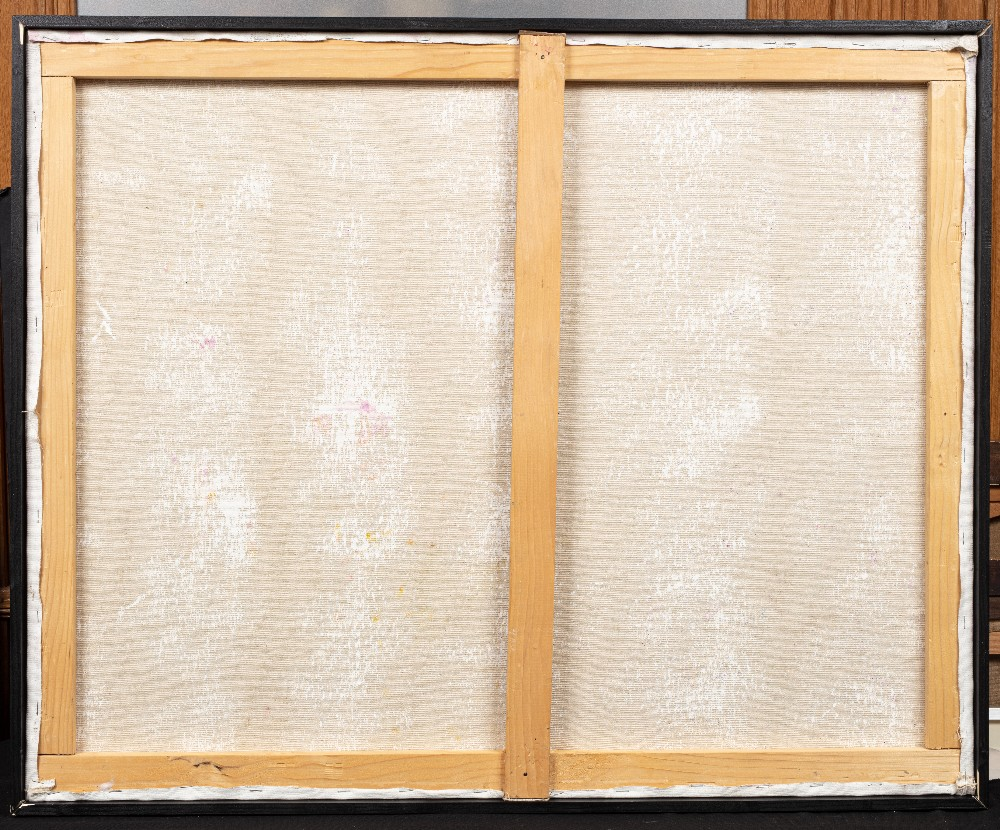 Zerrouki BOUKHARI (Mostaganem 1944)Le mystère des apparencesAcrylique sur toile 100x90 cm Signé en - Image 3 of 3