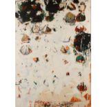 Shahriar AHMADI (Iran 1979)Sans titre #23, Série Rumi in My Chalice, 2008Acrylique et crayon sur