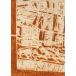 Samta BENYAHIA (Constantine 1949)Sans titre, 1994Samta ben Yahia Composition A vue 29x20.6 cm