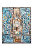 Mahjoub BEN BELLA (Marnia 1946- Lille 2020)Sans titre, 1983Technique mixte 99,5 x 80,5 cm Signé et