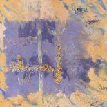 Choukri Mahmoud MESLI (Tlemcen 1931 - Paris 2017)CompositionHuile sur toile signée en bas à droite