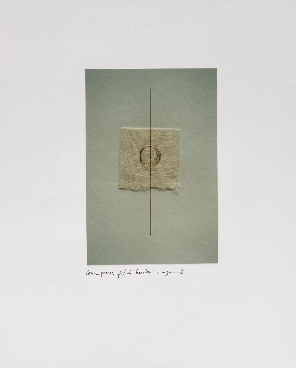 Safaâ ERRUAS (Tétouan 1976)Portfolio, 2000Ensemble de 8 feuillets réunis dans un portfolio -