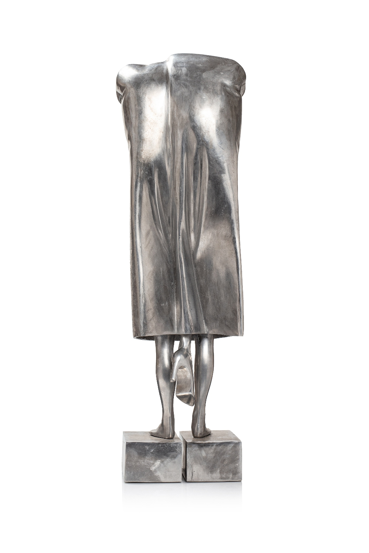 Mohammad REZA KHALAJI (Téhéran 1974)Sans titre, 2017Aluminium 81,5 x 32,5 x 20 cm Edition 1/8 Signé,