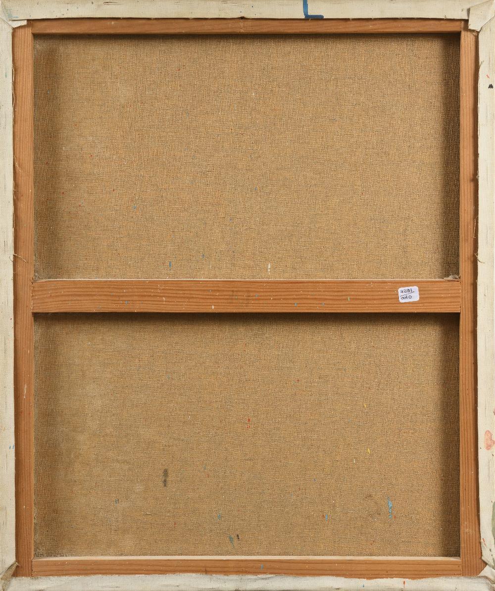 Fériel LAKHDAR (Tunis 1965)Atelier d'artisteHuile sur toile 64,5x54 cm Signé et daté en bas à droite - Image 2 of 2