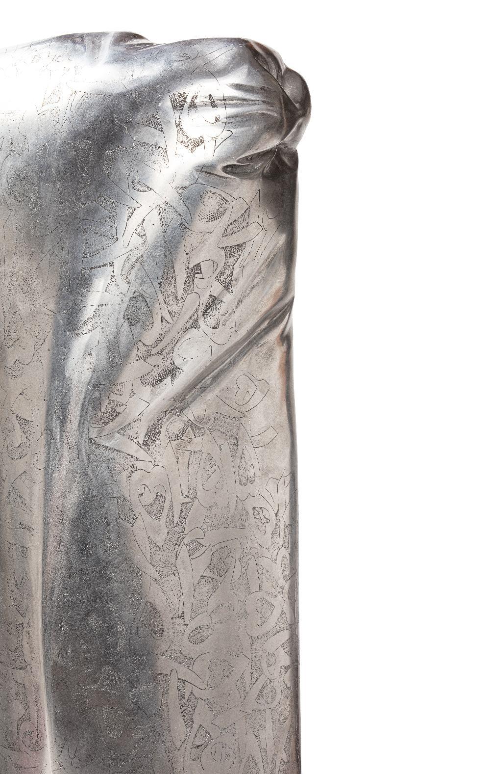Mohammad REZA KHALAJI (Téhéran 1974)Sans titre, 2017Aluminium 81,5 x 32,5 x 20 cm Edition 1/8 Signé, - Image 5 of 5