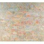 Mohamed AKSOUH (Alger, 1934)Sans titre, 2003Huile sur toile signée en bas à gauche 120 x 135 cm