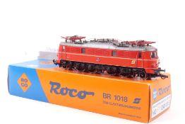Roco 04141ERoco 04141E, ÖBB E-Lok 1018.07, rot, gut erhalten, Kleinteile beiliegend,