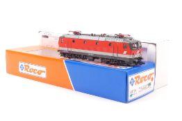 Roco 43724Roco 43724, ÖBB E-Lok 1044 006-3, rot mit grauer Binde, sehr gut erhalten,