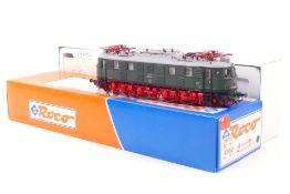 Roco 43662Roco 43662, DR E-Lok 218 019-8, grün mit rotem Fahrgestell, sehr gut erhalt