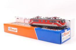 Roco 43760Roco 43760, ÖBB E-Lok 1110 018-7, rot mit hellgrauen Zierflächen, sehr gut