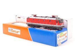 Roco 43658Roco 43658, ÖBB E-Lok 1044 056-805, rot mit grauer Binde, gut erhalten, hin