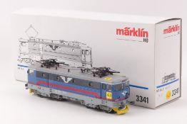"""Märklin 3341Märklin 3341, """"RC2 1056"""", Elektrolok der SJ, mit Führerstandsbezeichnun"""