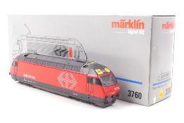 """Märklin 3760Märklin 3760, Elektrolok Re 4/4 VI """"460 004-5"""" der SBB, Kreuzpfeil-Signe"""