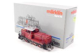 """Märklin 3665Märklin 3665, """"260 417-1"""", Diesellok, Digital-Technik, Räder fest, verm"""