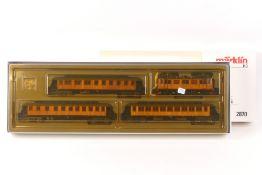 """Märklin 2870Märklin 2870, """"Historischer Schwedenzug"""": Elektrolok """"101"""" der SJ, Holza"""