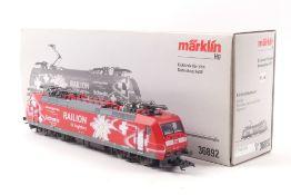 "Märklin/Trix 36892Märklin/Trix 36892, `Railion` Elektrolok ""185 142-7"" der DB, 2L-Gl"