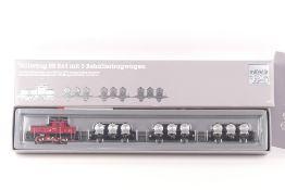 """Märklin 2874Märklin 2874, Güterzug mit Rangierlok """"E63 04"""" der DRG, analog, defekt,"""