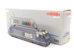 """Märklin 3763Märklin 3763, Elektrolok Re 4/4 """"465 001-6"""" der BLS, Digital-*-Technik,"""