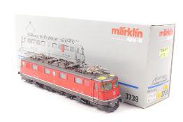 """Märklin 3739 Märklin 3739, """"11426"""", Elektrolokomotive Ae 6/6 der SBB, Stadtwappen """"Zürich"""","""