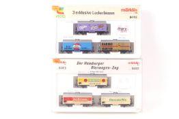 """Märklin zwei Wagen-SetsMärklin zwei Wagen-Sets, 84418, """"Drei exklusive Leckerbissen"""""""