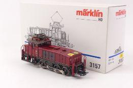 """Märklin 3157Märklin 3157, Elektrolok """"160 001-4"""" der DB, analog, Wechselstrom, digit"""