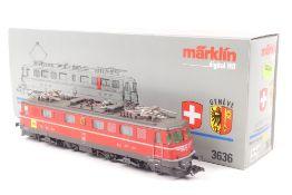 """Märklin 3636Märklin 3636, Elektrolok Ae 6/6 """"11425"""" der SBB, Wappen """"GENÈVE"""", Digit"""