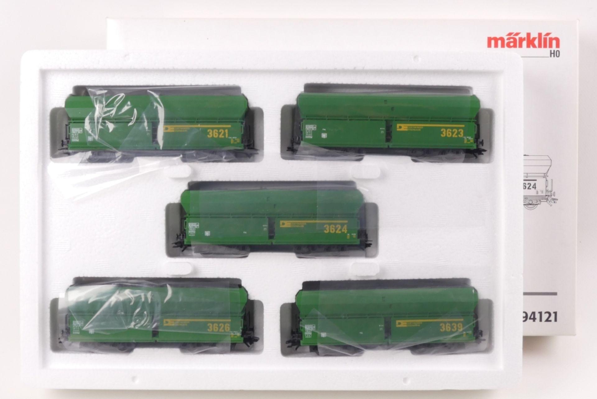 """Märklin Wagen-SetMärklin Wagen-Set, 94121, """"Dortmunder Eisenbahn"""", auf Gleichstromac"""