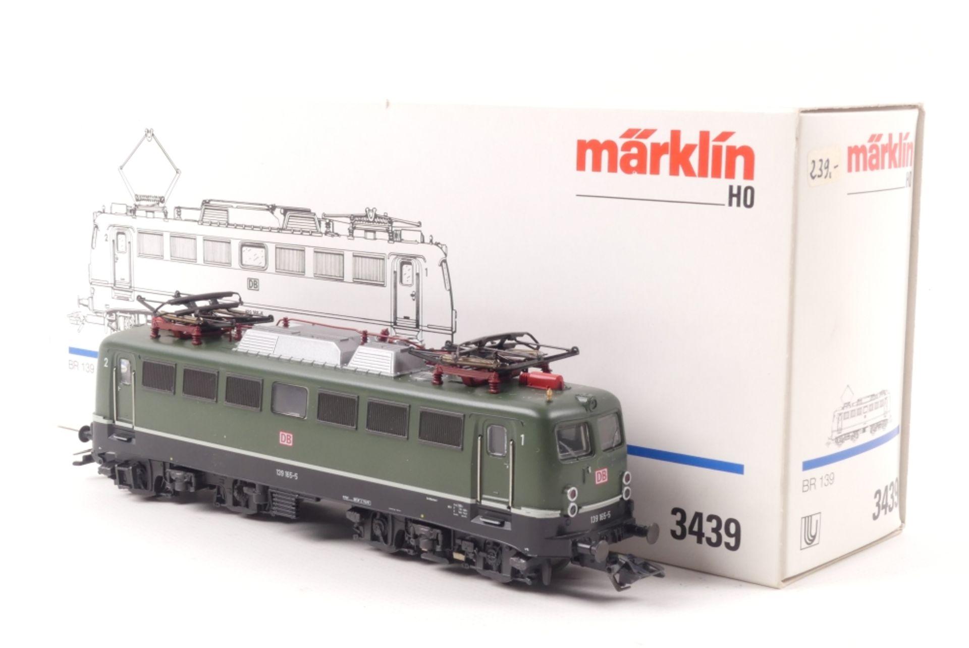 """Märklin 3439Märklin 3439, """"139 165-5"""" Elektrolok, Metallgehäuse, Umbau auf 2L-Gleic"""