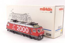 """Märklin 3330Märklin 3330, Elektrolok """"Re 4/4 IV """"10104"""" der SBB, """"Bahn 2000"""", analog"""