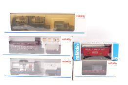Märklin fünf GüterwagenMärklin fünf Güterwagen, Museum 1991/1992/1993/1989, 8450