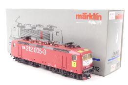 """Märklin 3742Märklin 3742, Elektrolokomotive """"DR 212 005-3"""", der DR (DDR), Digital-*-"""