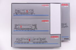 """Märklin 37203, """"Urahnen der Diesel-Traktion"""", V 188, V120, V 140, Digital-*-Technik, beklebt, es"""