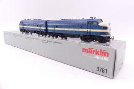 """Märklin 3781, """"TEXAS & PACIFIC"""" Doppel-Diesellok """"1537"""" und """"1540"""", beklebt/ablösbar, fx-Digital-"""