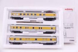 Märklin 42996, Set 3 Messwagen, sehr gut erhalten, ORK/Lagerspuren/beklebt