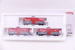 """Märklin 45648, """"Freight Car Set"""", sehr guter Zustand, ORK/kleiner Klebepunkt"""