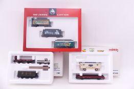 Märklin drei Wagen-Sets, 94095, 46946, 4509, sehr gut erhalten, ORK/leichte Lagerspuren