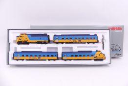 """Märklin 37500, """"Northlander"""", vierteiliger Triebwagenzug, Diesellokomotive F7 """"1984"""", """"6073"""""""