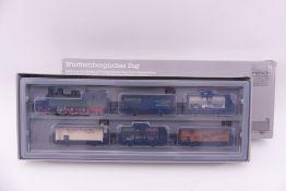 """Märklin 2857, Württem. Güterzug, Tenderlok T5 """"1205"""", mittl. Treibachse mit großer Schwungmasse,"""
