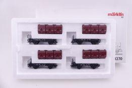 """Märklin 48270, Wagenset """"Kohletransport"""", sehr guter Zustand, ORK beklebt"""
