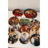 """A selection of """"Gone with the wind"""" collectors plates"""