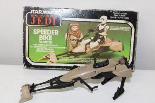A boxed Star Wars 1980's Speeder Bike