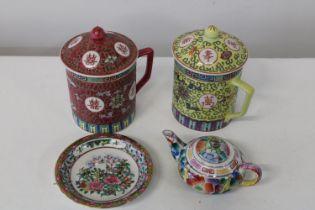 Four pieces of Oriental ceramics