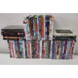 A bag full of DVD's