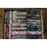 A large box of DVD's