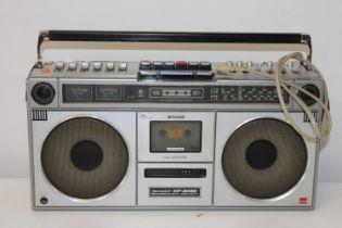 "A vintage Sharp ""Boom Box"" in GWO"