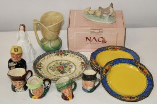 A selection of collectable ceramics