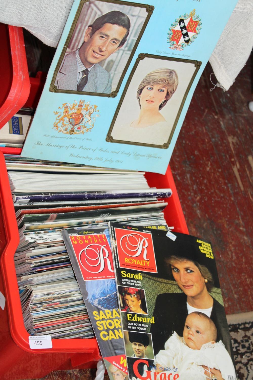 A job lot of commemorative magazines
