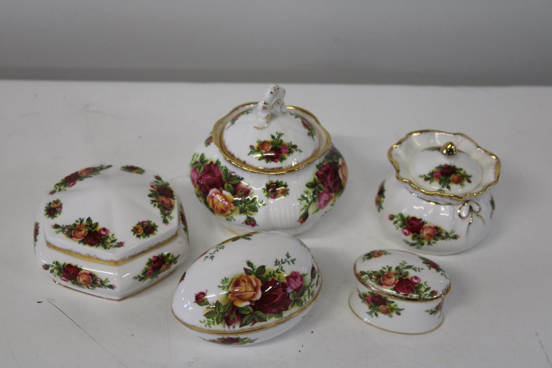 Five Royal Albert OCR pieces